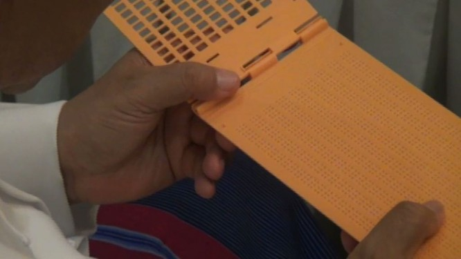 Election commission promises conveniences for blind voters