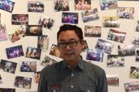 LGBTIQ and human rights activist Aung Myo Min at the Chiang Mai screening of 'This Kind of Love'. (PHOTO: DVB).