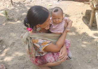 Approximately 350 Khumi people have been forced to flee their homes, of whom 141 are under 18. (PHOTO: CHRO).