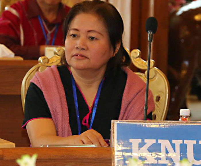 Zipporah Sein questions KNU's commitment to accord