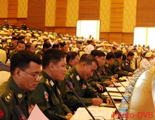 Military MP opposes charter reform due to Burma's 'democratic inexperience'