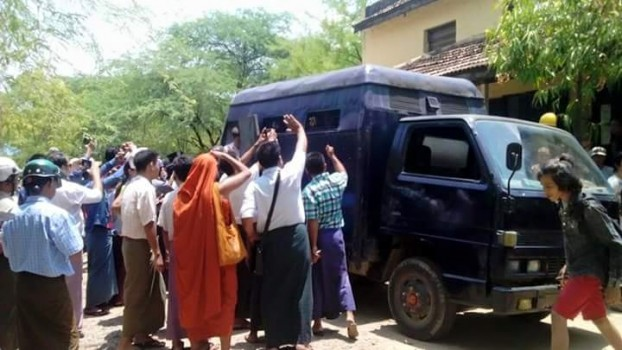 Students apply for bail at Myingyan hearing