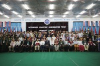 The NCCT pose for a group photo on 31 July 2014 after concluding a week-long summit in Laiza. (Photo: DVB)