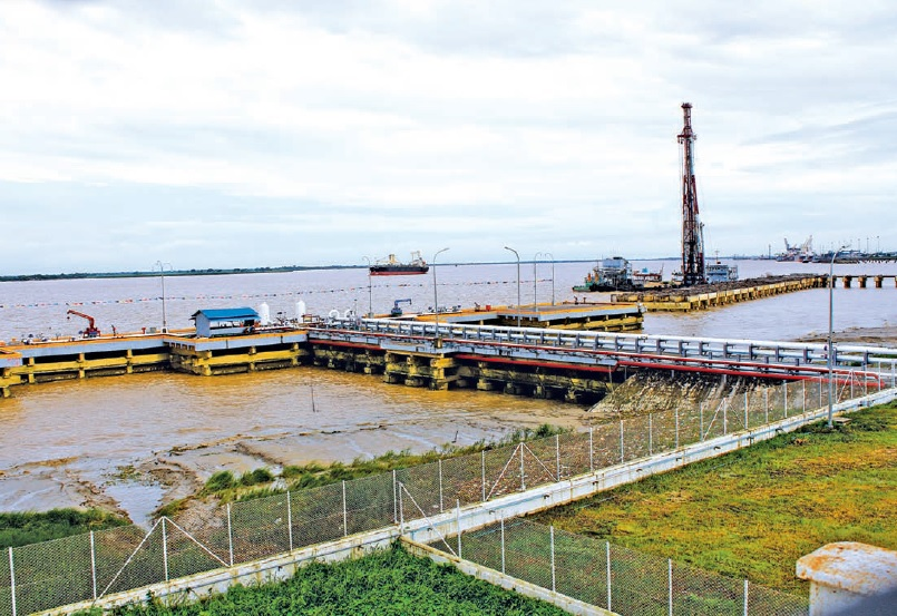 The newly-inaugurated Green Asia Port Terminal. (PHOTO: Ministry of Transport).