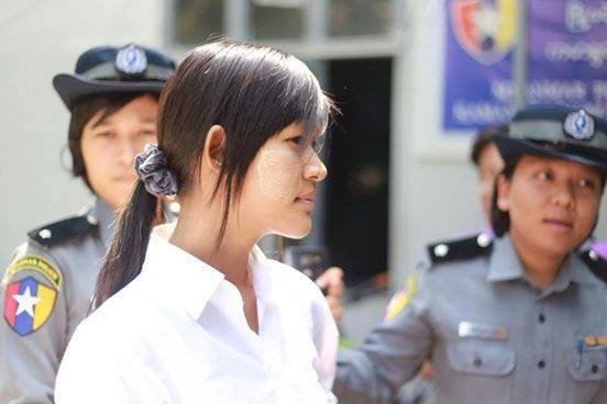 Student activist Po Po released on bail