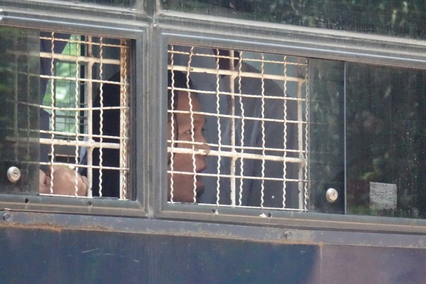 Seven activists at Tharawaddy prison face up to six weeks solitary confinement. (PHOTO: DVB).