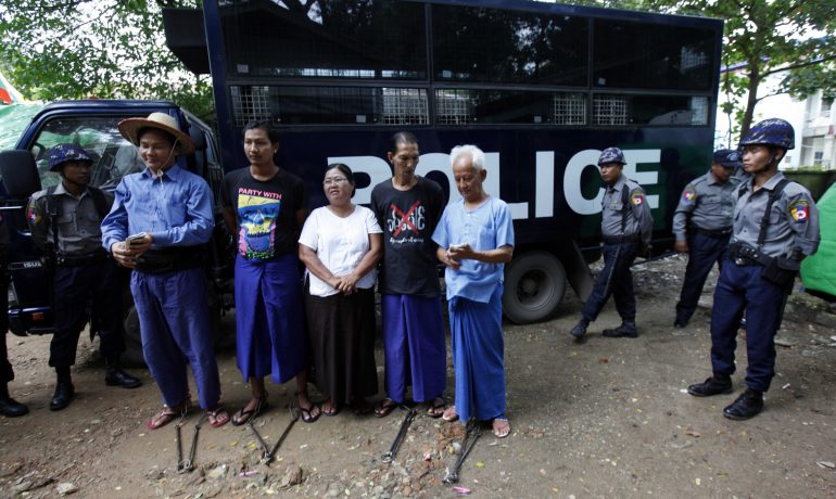 Additional sentences for Latpadaung activists