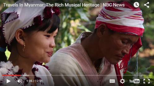Burma's rich musical heritage
