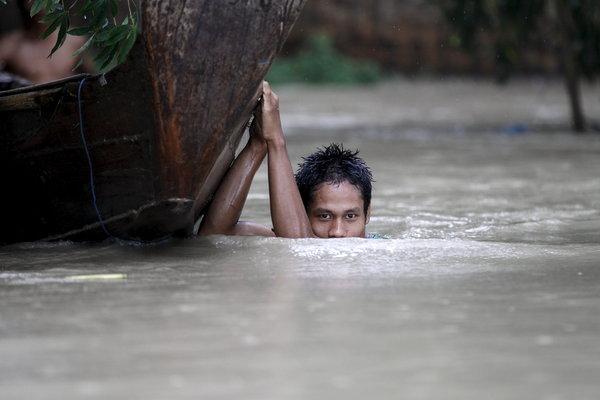 President urges evacuation in Irrawaddy delta