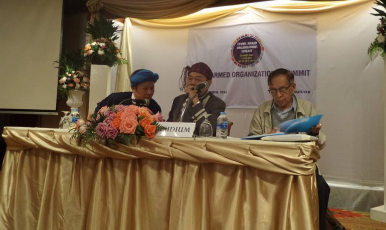 Armed groups split on signing of peace pact
