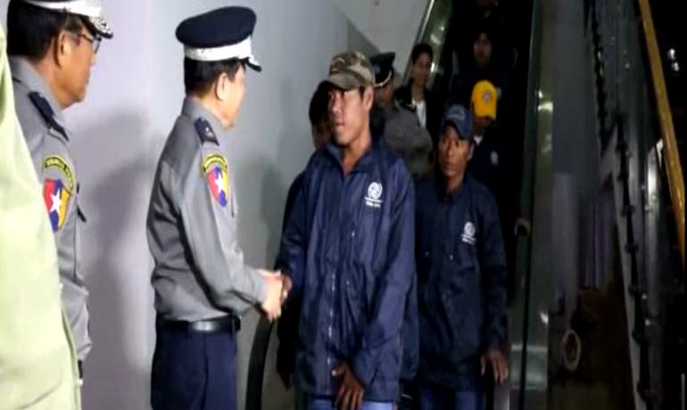 105 Burmese fishermen repatriated