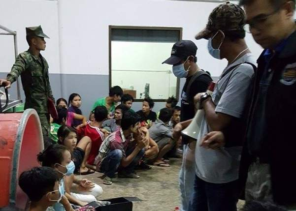 35 Burmese migrants dumped by traffickers, arrested by Thai police