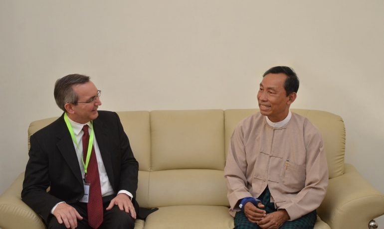 US ambassador meets Shwe Mann to discuss Rohingya issue