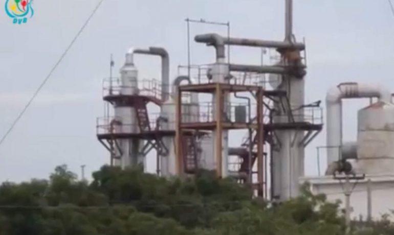 Acid factory fumes keep kids from school