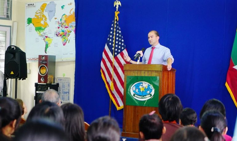 US pledges $21m to strengthen governance in Burma