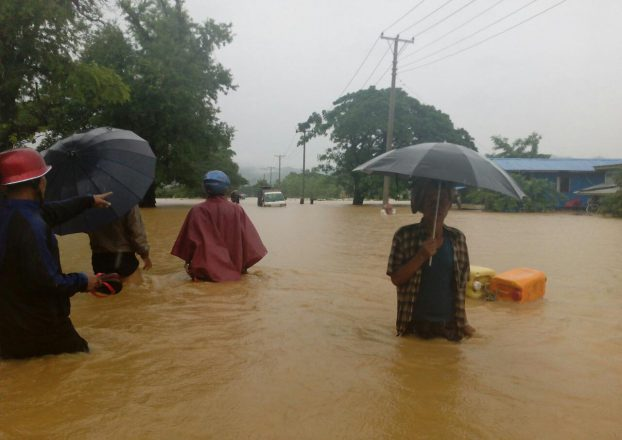 Food, water, shelter needed for Arakan flood evacuees