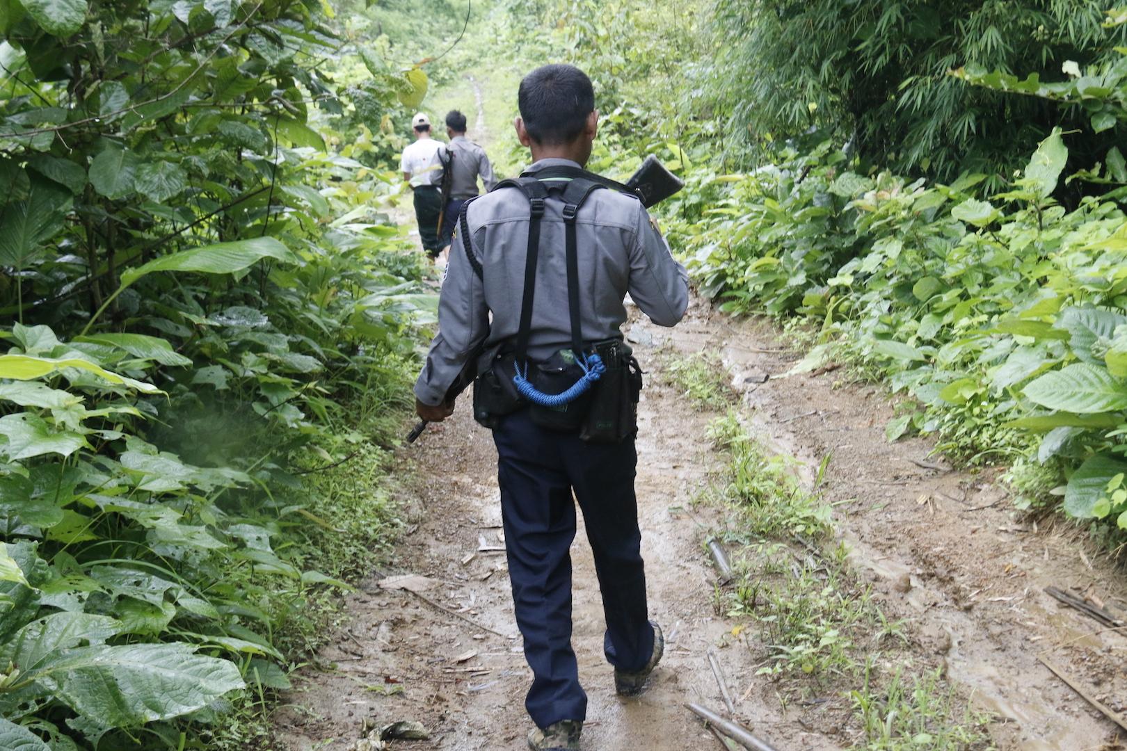 The fight for Pegu's forests gets violent