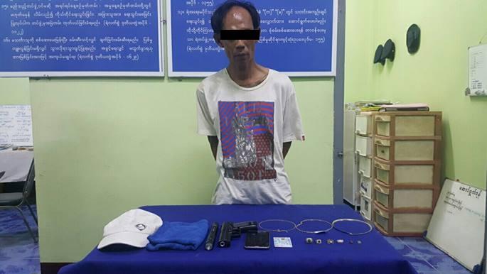 Thai man accused of robbing Tachilek jewellery store