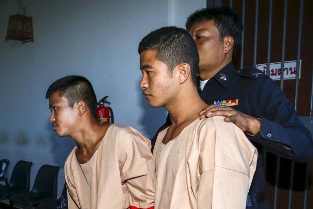 Koh Tao pair 'in good health', says embassy