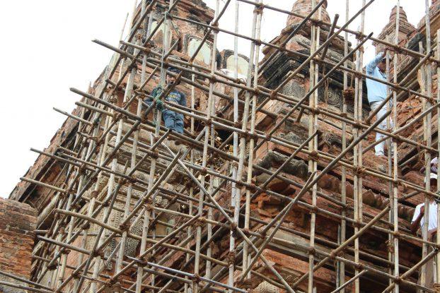 Dispute over renovation at Bagan temple