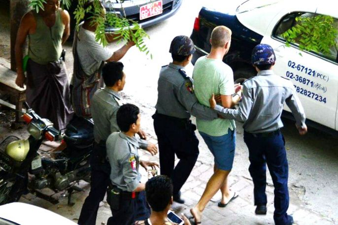 Dutchman who unplugged Buddhist sermon released from jail, deported