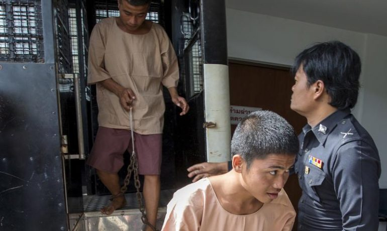 Burmese pair face two-week wait on Thai high court's Koh Tao appeal ruling