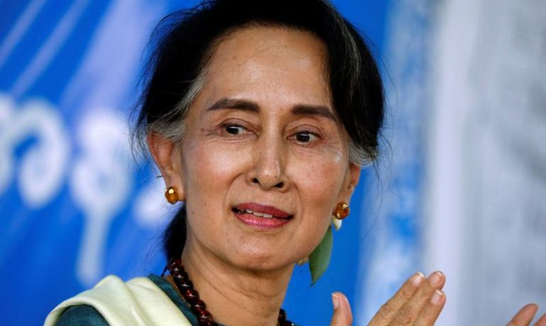 A year on, Suu Kyi struggles to move Burma on from conflict