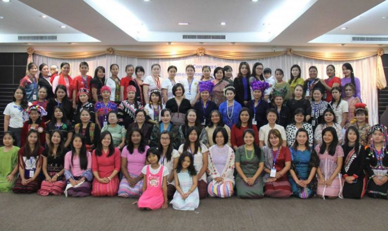 Women's group appoints new leaders, plans move to Burma