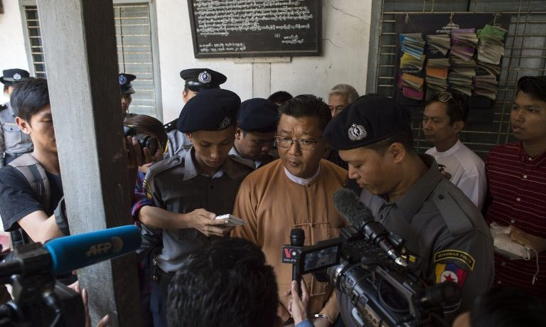 NLD member sentenced to 6 months for insulting military chief