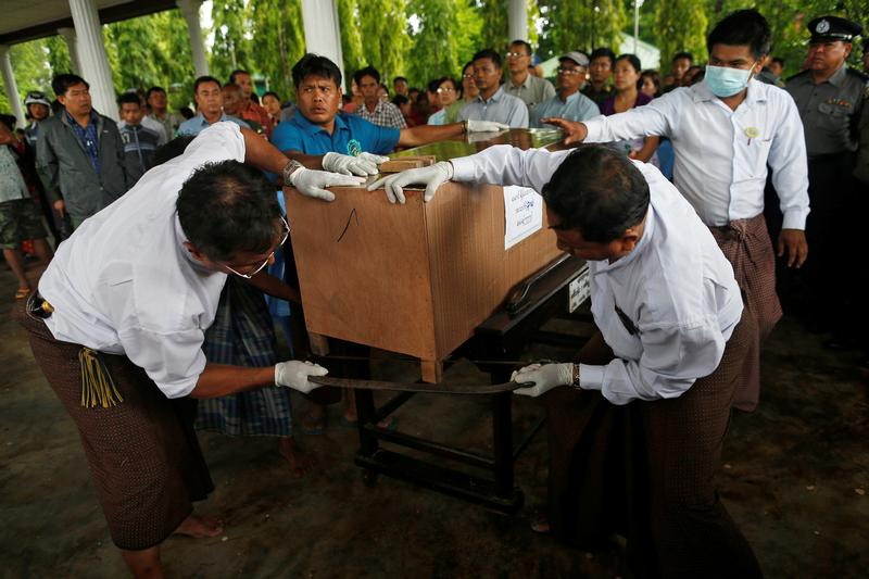 Body count rises to 90 in search for plane off southeastern Burma's coast