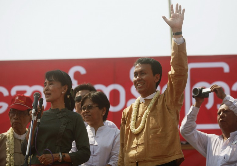 NLD throws support behind chief minister in war of words against military