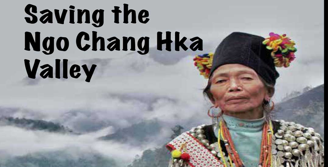 Locals oppose dam-building on Ngaw Chan Kha