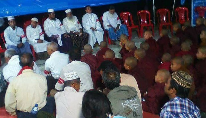 NLD probing controversy over Mandalay interfaith event's seating