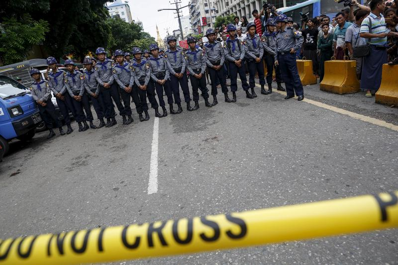 Rights watchers slam ban on protests in Yangon