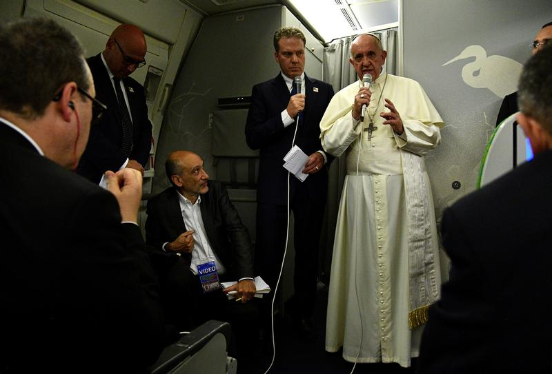 Pope says his defence of Rohingya got through in Burma