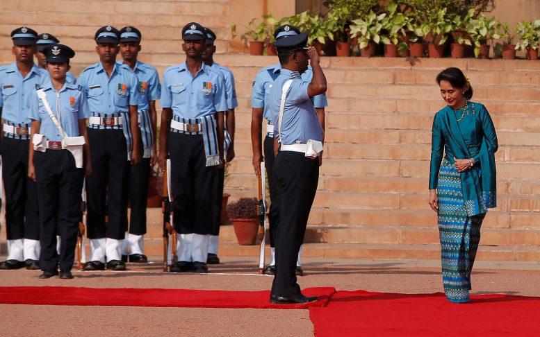 Suu Kyi to visit India this week