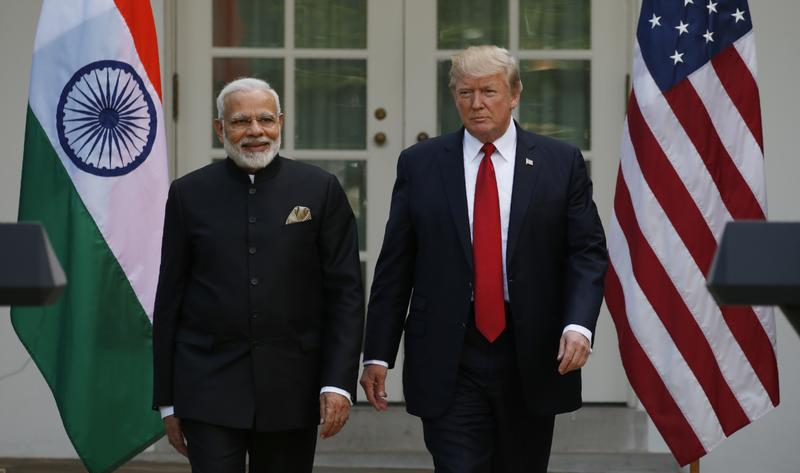 Troubles in Burma, Maldives and N. Korea discussed between Trump and Indian PM