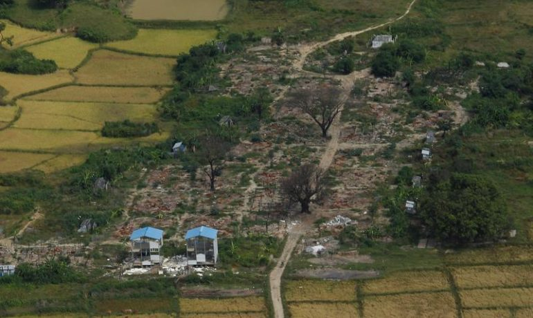 Military bases being built where Rohingya once lived and prayed: Amnesty