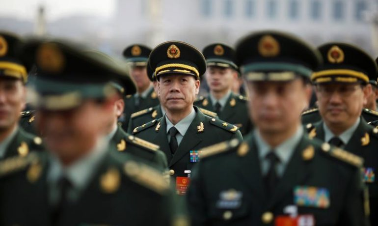 China boosts defence spending, rattling its neighbours' nerves