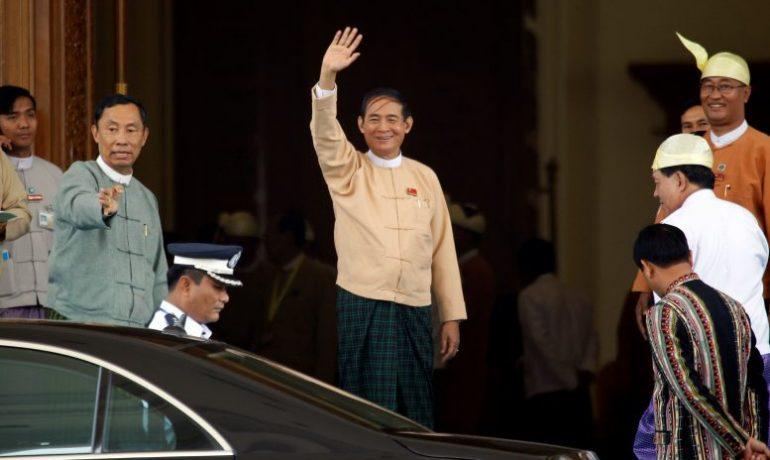 Burma's army chief congratulates president-elect