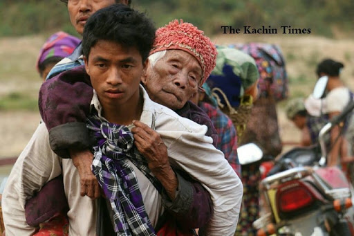 More Kachin villagers flee as clashes intensify