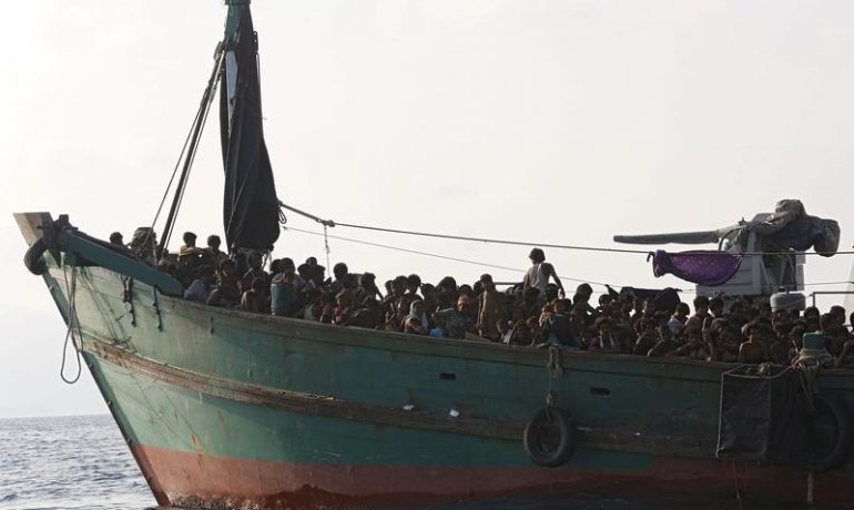 UNHCR concerned over safety of 56 Rohingya refugees in stormy seas