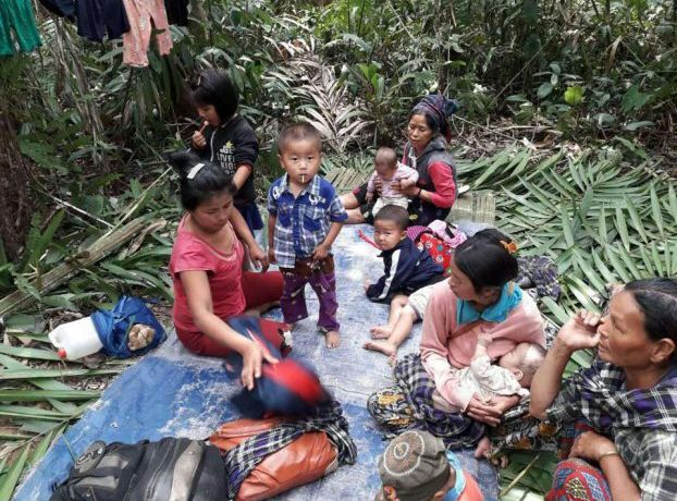 An estimated 2,000 Kachin villagers flee to jungle as clashes hit Tanai Township