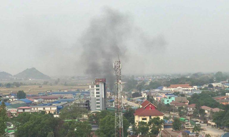 China condemns Burma border violence